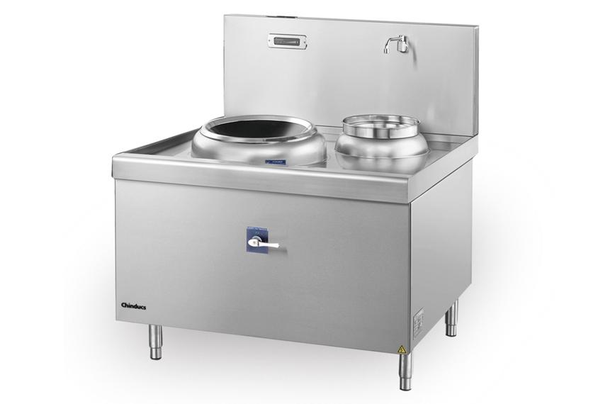 成都商用廚房設備-單頭單位電磁小炒爐