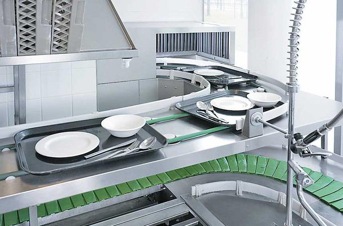 成都厨房设计-餐具传送系统