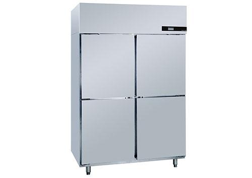 成都不鏽鋼廚房設備-四門冰櫃