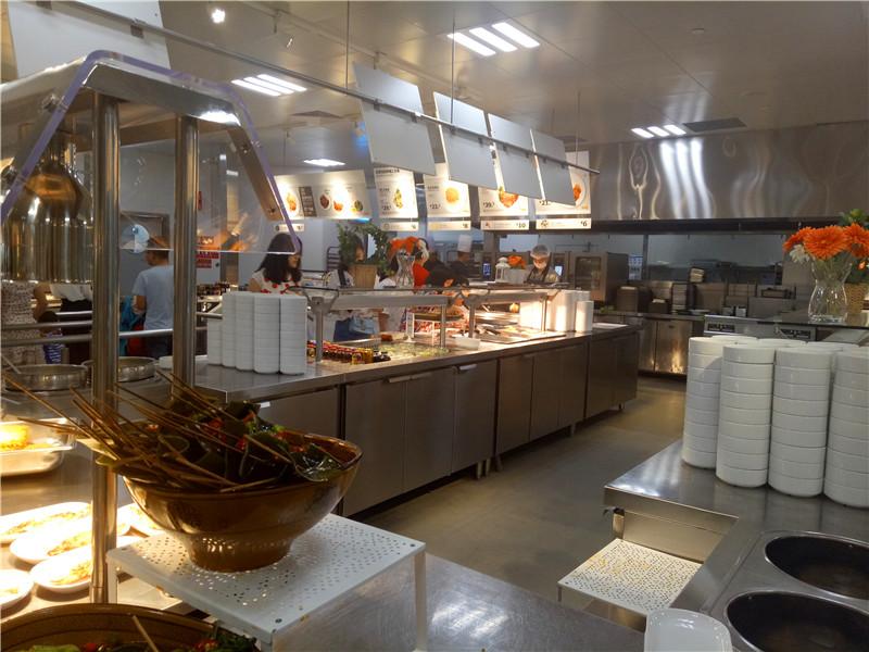 成都商用厨房设备厂家合作案例