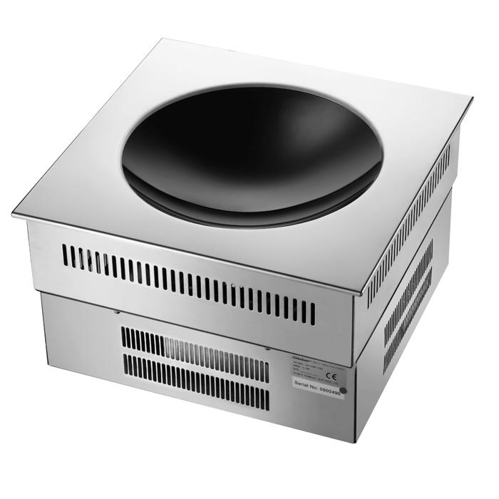 成都商用厨房设备-嵌入式凹面电磁炉
