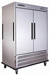 成都酒店厨房设备-双门宴会活动式冷藏送餐车