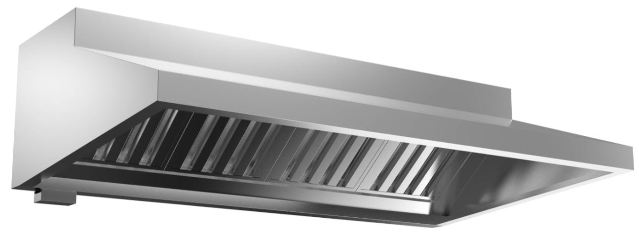 成都不锈钢厨具-油网烟罩Lx1300x600