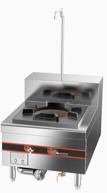 成都不锈钢厨房设备-环保单头燃气吊汤炉650x900x500+200
