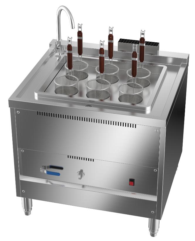 成都不锈钢厨房设备-节能燃气煮面炉850x760x800+30