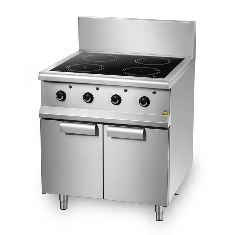 成都商用厨房设备-四头电磁煲仔炉