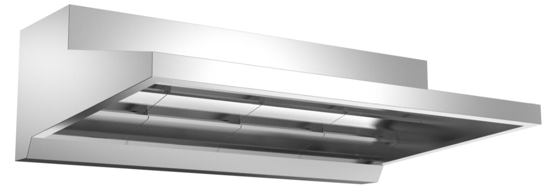 成都不锈钢厨具-运水烟罩Lx1400x660
