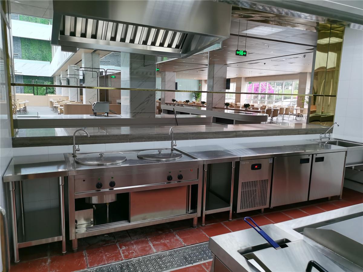 成都厨房设备安装成功案例