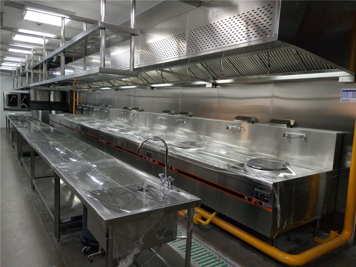 中央热厨房设备案例