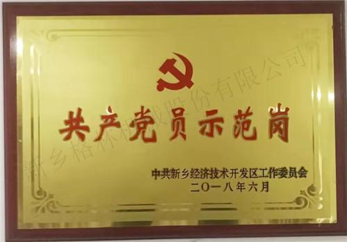共产党员示范岗