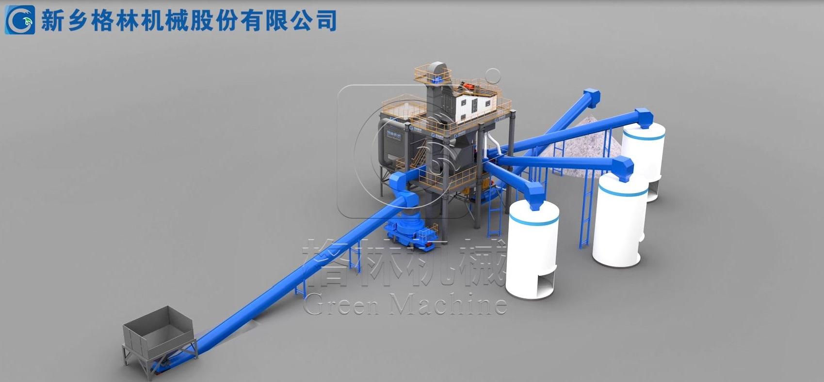 河南精品骨料生产线