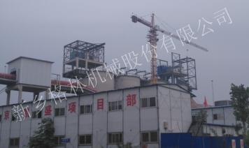 山東泰安500噸骨料制砂生產線
