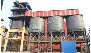 山東青州500噸骨料制砂生產線