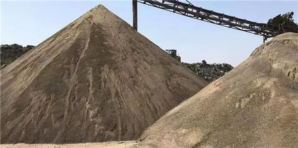 格林机械浅谈砂石行业现状