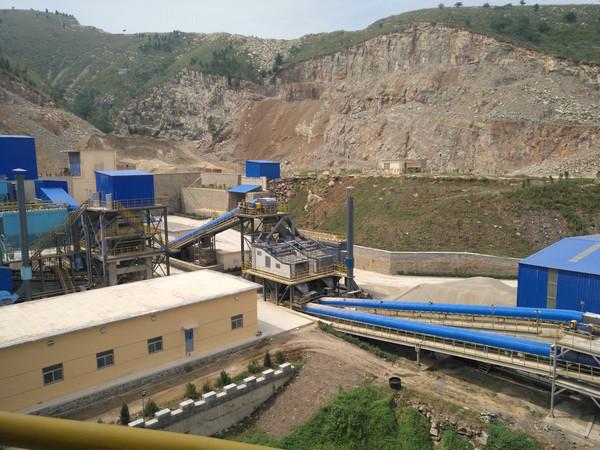 砂石振动筛在砂石骨料生产线上的重要作用
