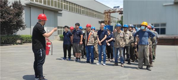 格林机械六月消防演练活动