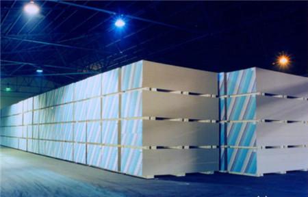 高强石膏板生产