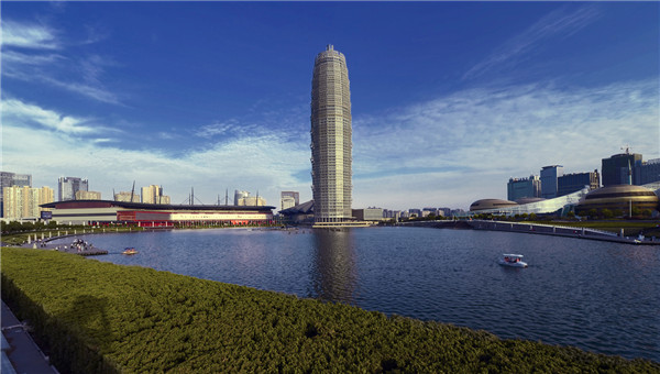 河南自贸区郑州片区签约14个重点项目线上招商