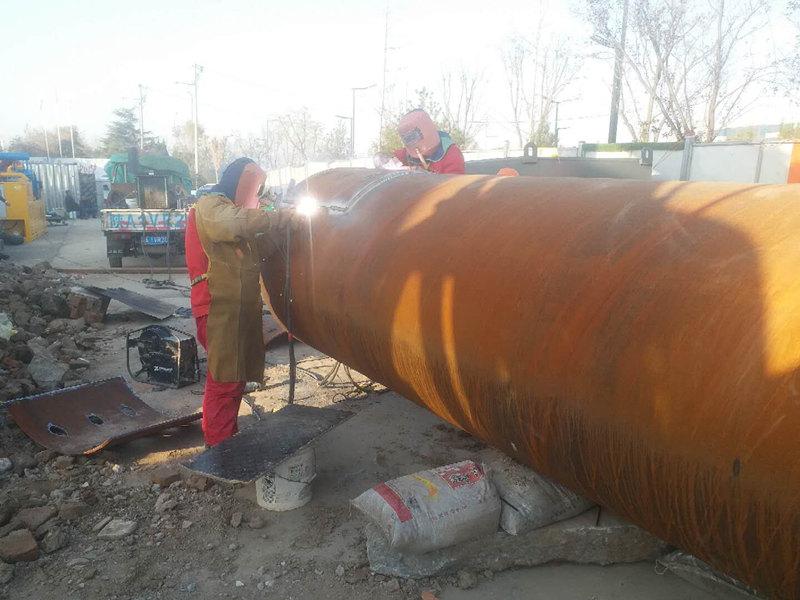 西安管道工程施工案例