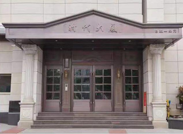 陕西玻璃铜门