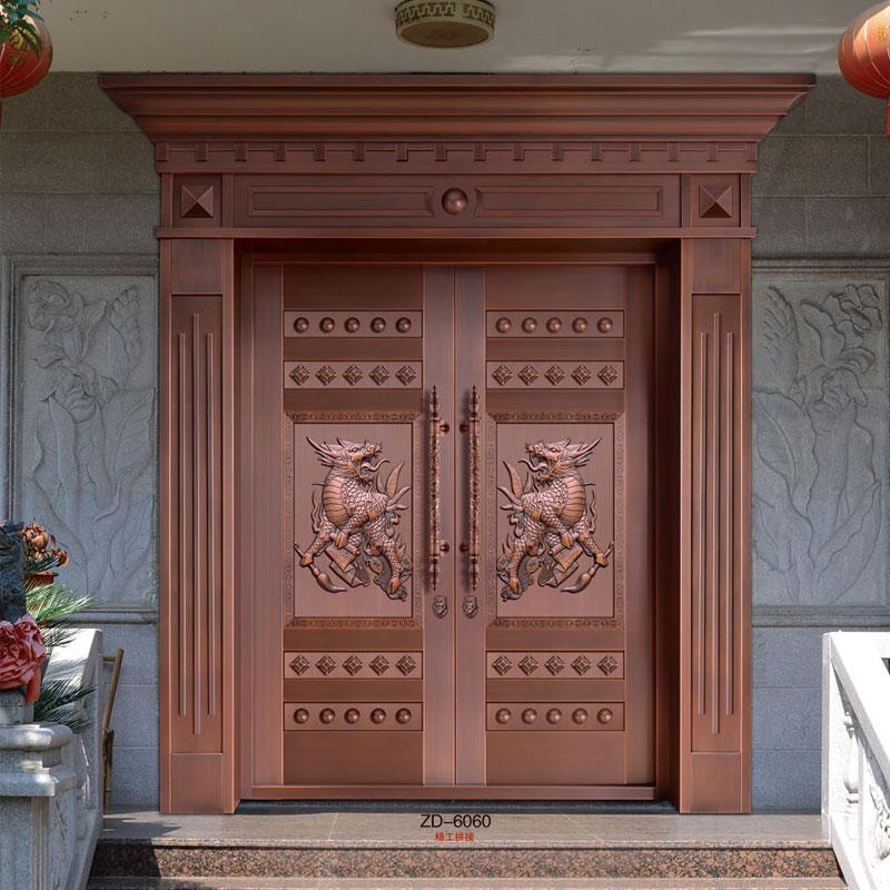 铜门安装时应遵守哪些安装标准?陕西铜门定做