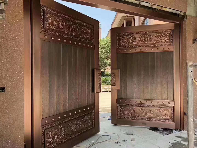 陕西庭院大门