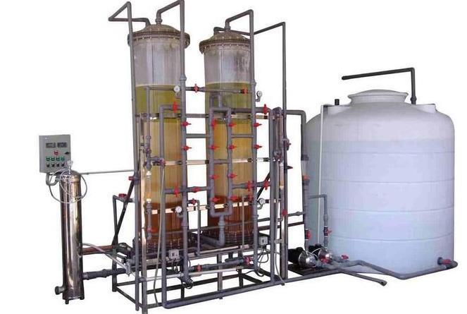 关于工业去离子水设备工艺流程详解