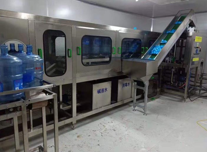 纯净水灌装机设备案例