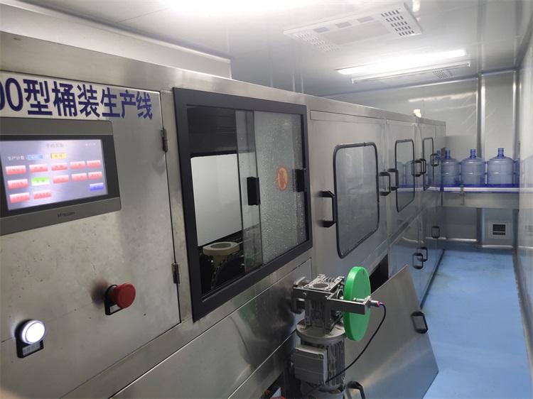 西安灌装机(150 桶/小时)