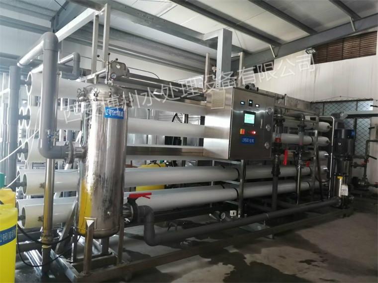 50吨每小时水处理设备已安装投入使用
