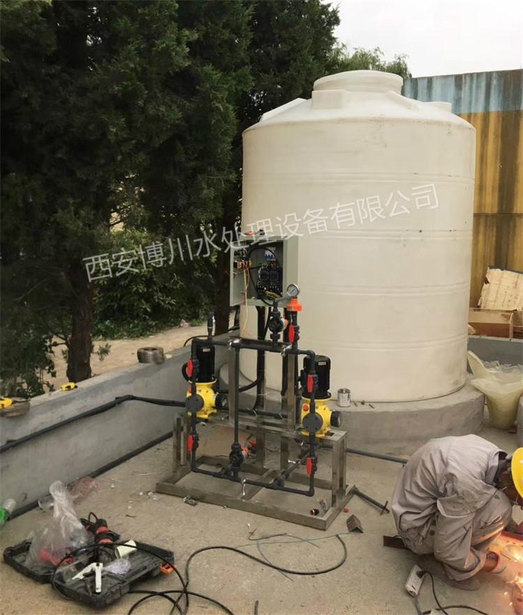 水处理设备加药系统
