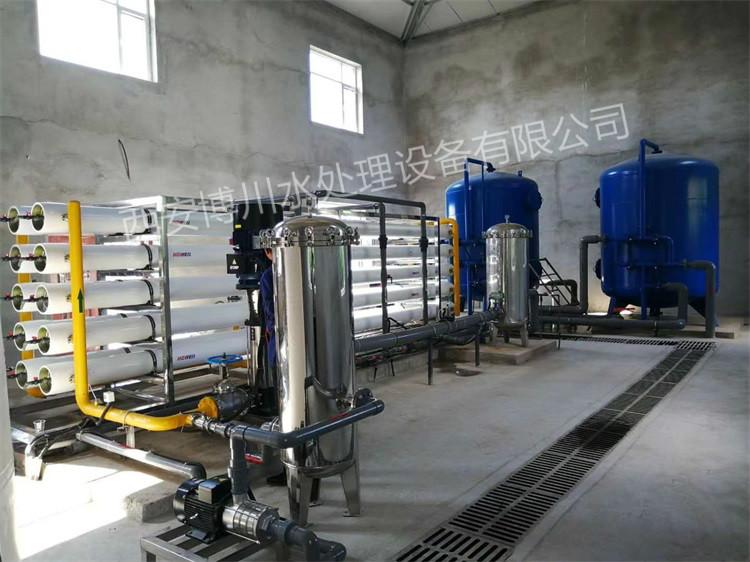 50吨水处理设备已安装完毕
