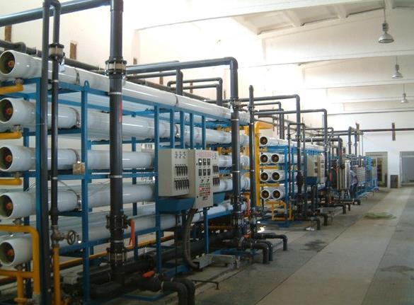 西安纯净水处理设备产水量减少的原因