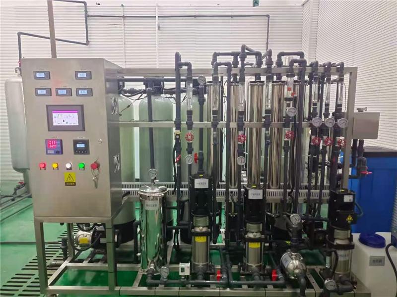 商洛反渗透+EDI(属于超纯水设备)