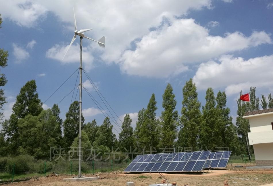 80kW风光互补离网储能电站