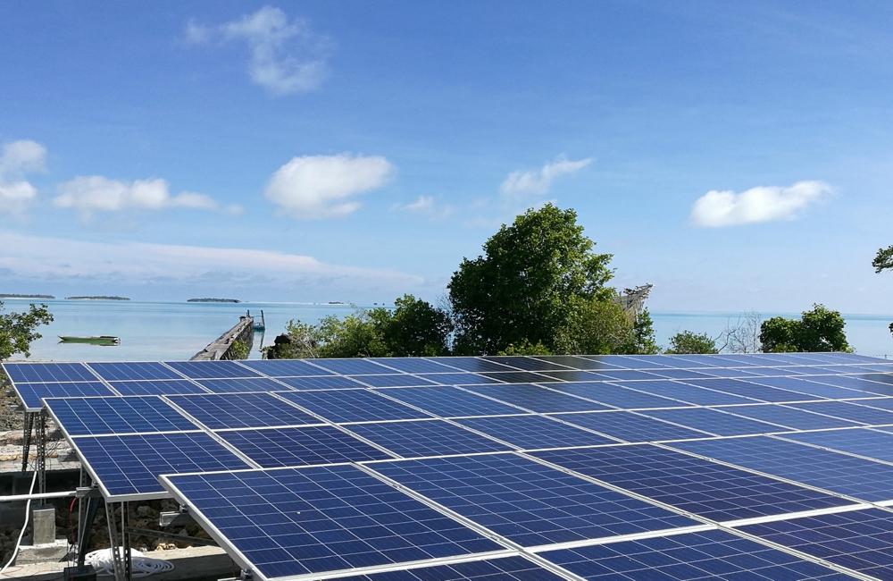 120kW离网太阳能发电