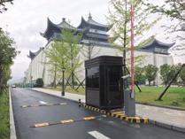 安康博物馆氟碳漆钢结构岗亭
