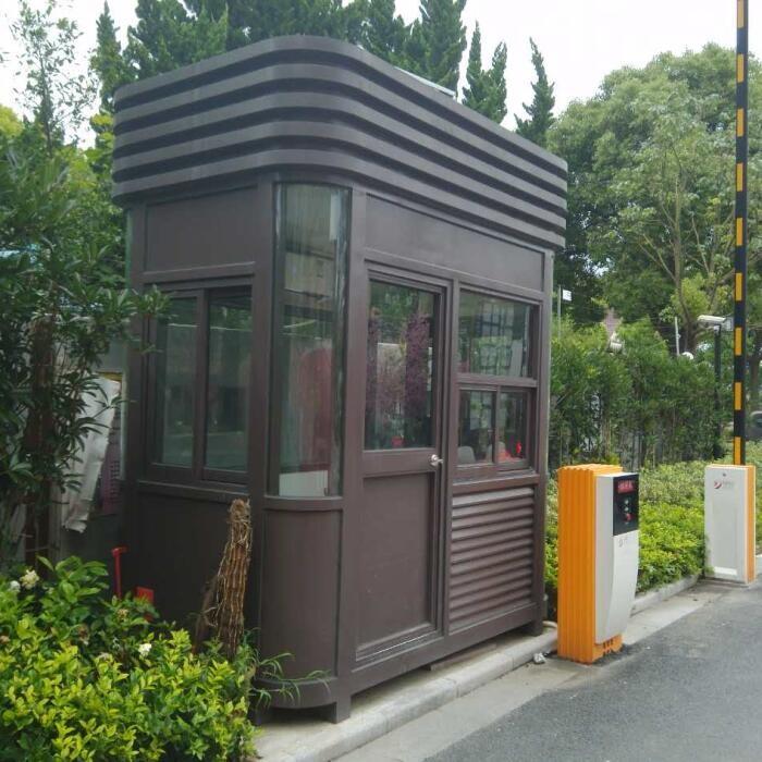 西安氟碳喷漆钢结构门卫收费岗亭