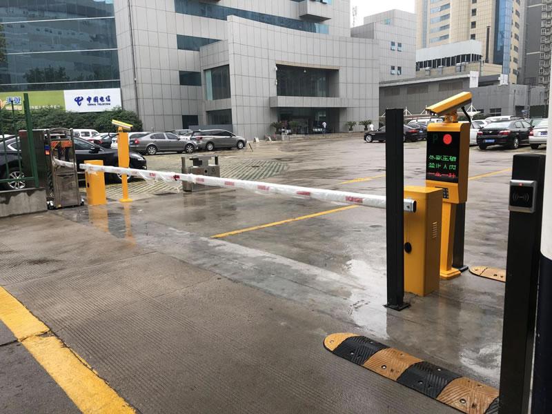西安电信安装智能停车系统案例