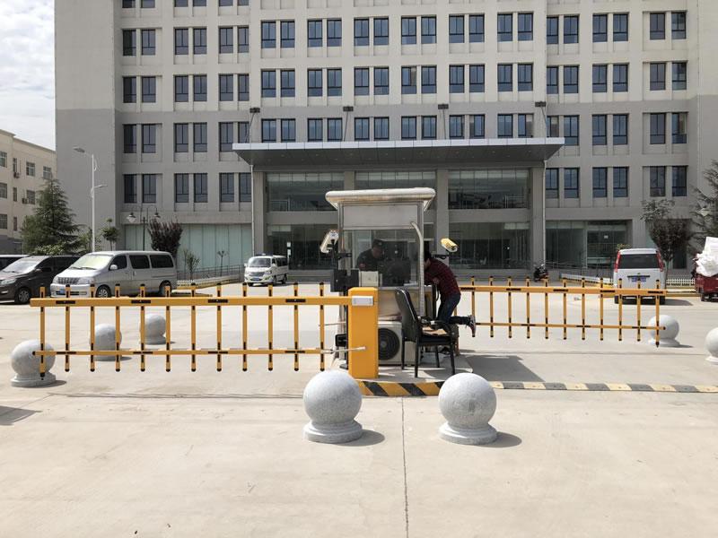 单位门口使用智能停车系统案例