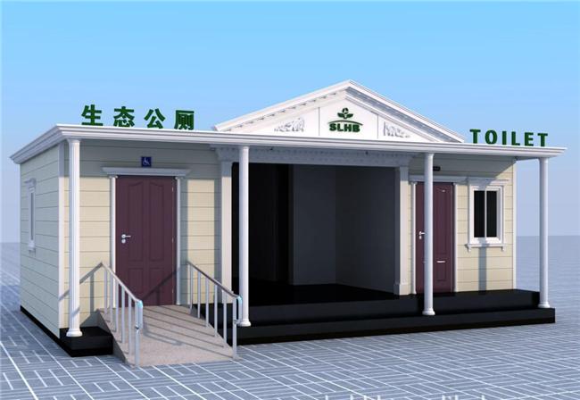 欧式大型环保厕所2