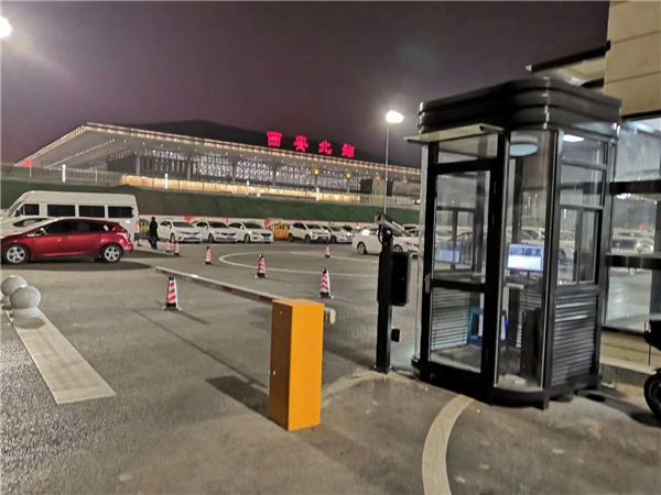 西安北站停车场