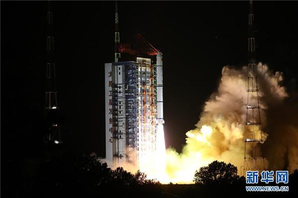 6月11日 我國成功發射海洋一號D衛星