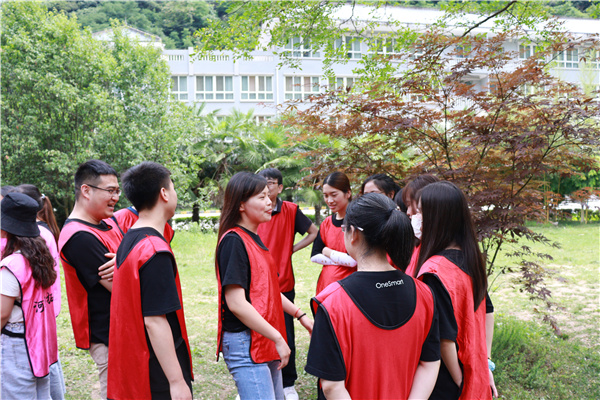 西安精锐教育团建活动选择河马拓展
