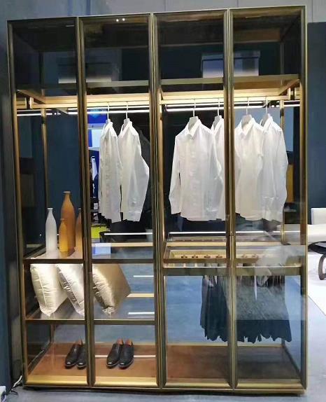 衣柜铝框门