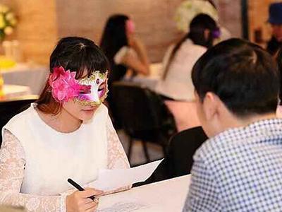 宁夏婚姻介绍所假面舞会活动现场图片