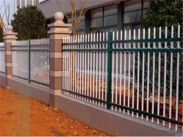 湖北中合围锌钢墙栅栏安装