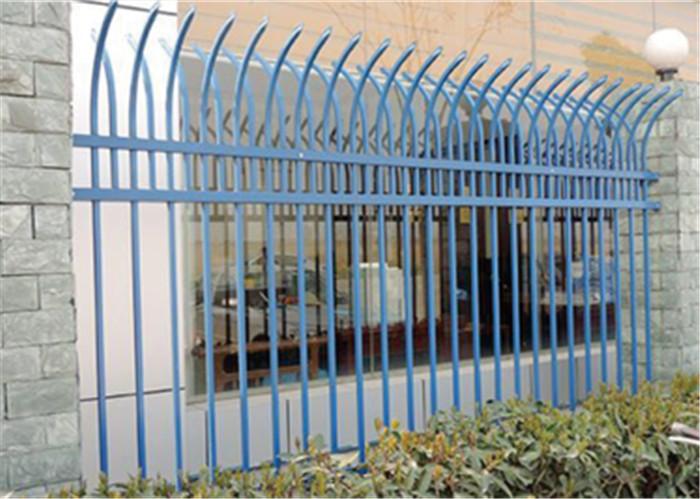小区别墅围墙铁艺锌钢护栏厂家