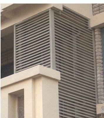 百叶窗防护栏销售厂家_护栏设计安装