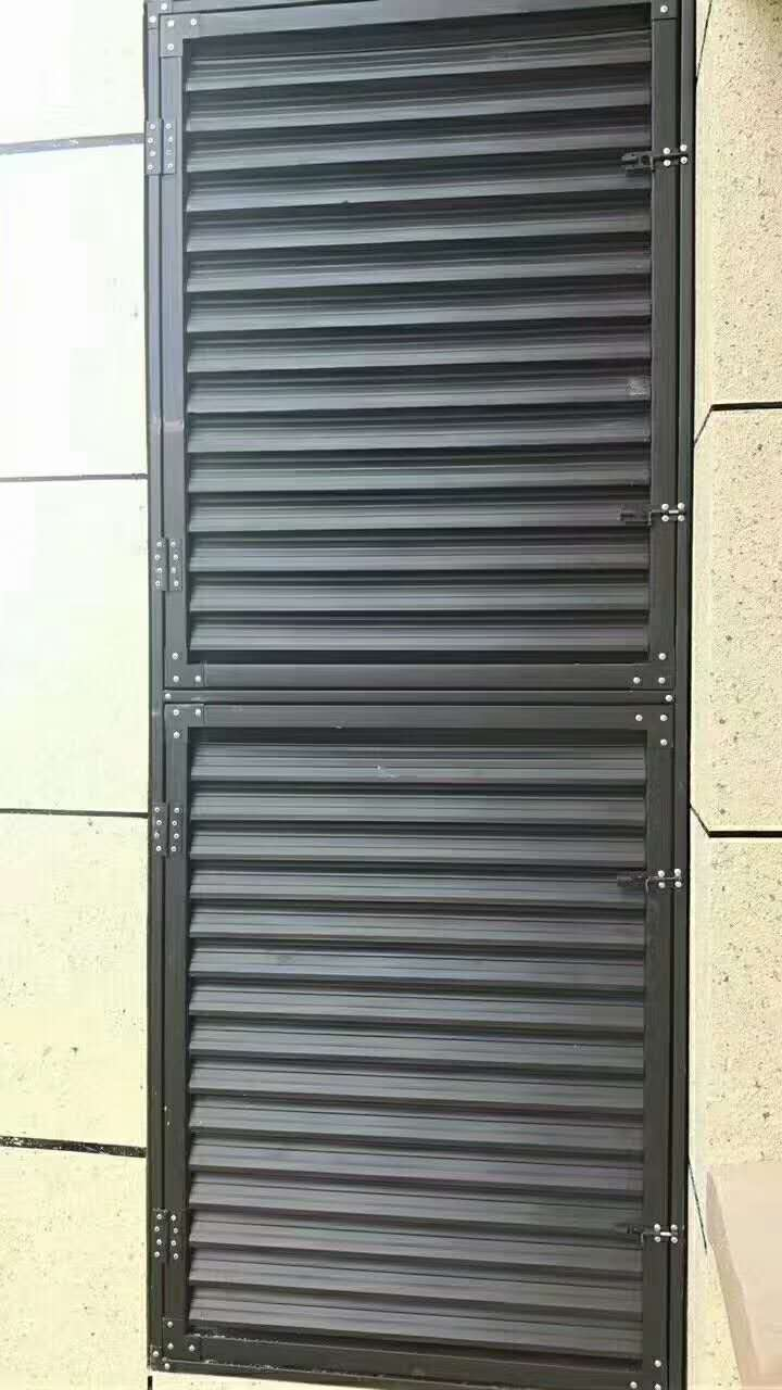 百叶窗防护栏厂家